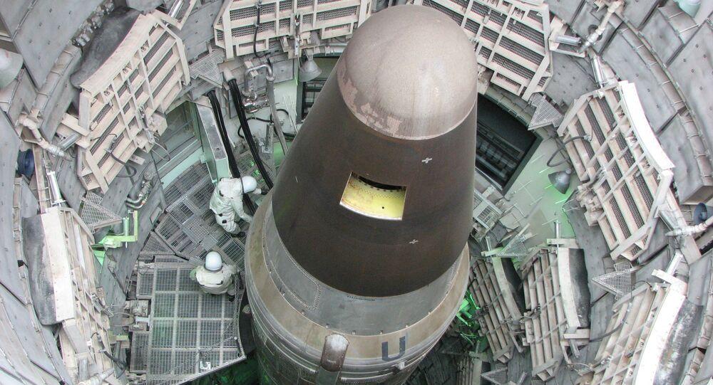 Largest intercontinental ballistic missile Titan 2