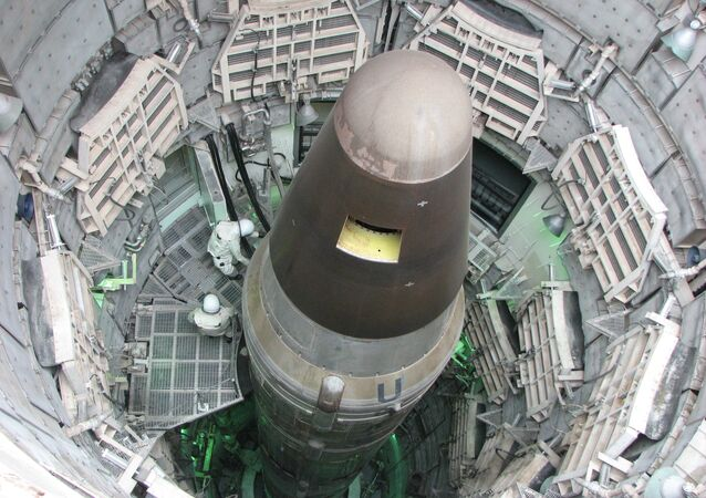 Largest intercontinental ballistic missile Titan 2