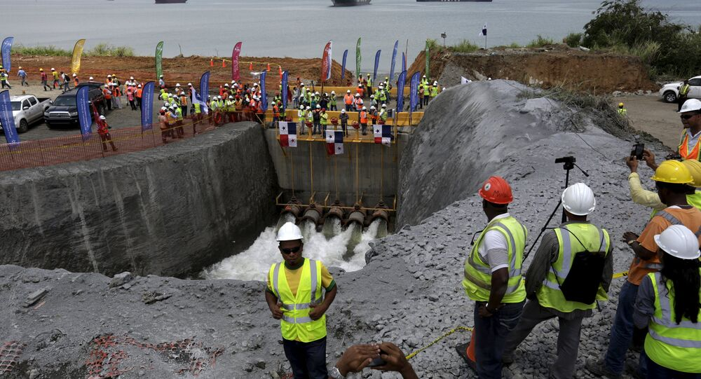 The Panama Canal Expansion project