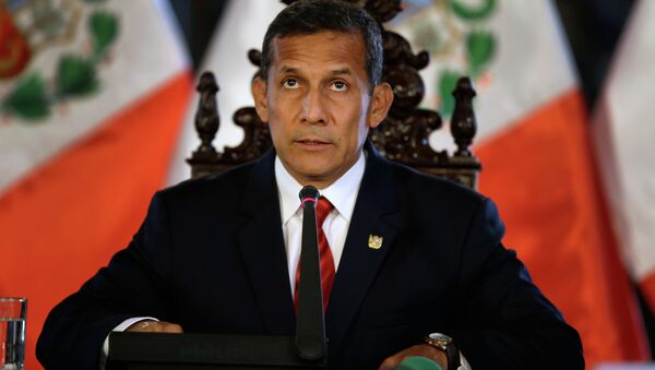 Former Peru's President Ollanta Humala - Sputnik International
