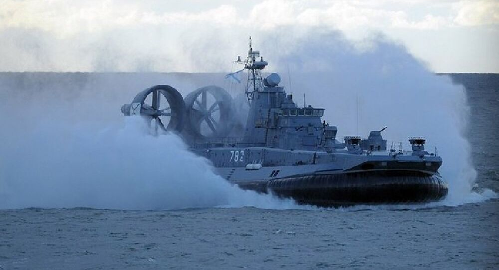 The Zubr air-cushion landing ships are the largest in the world.