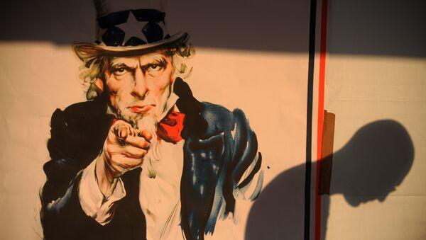 Poster of Uncle Sam - Sputnik International