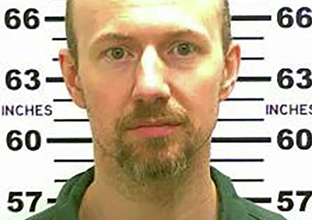 Escaped convict David Sweat is pictured in this undated handout photo released by the New York State Police