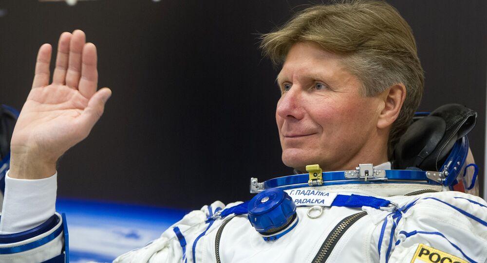 Roskosmos cosmonaut Gennady Padalka