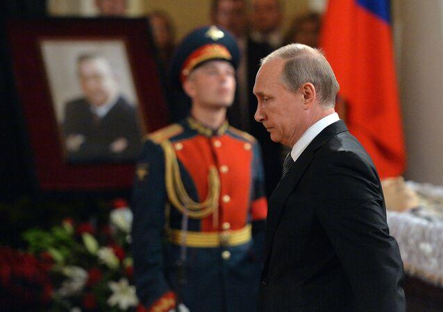 Farewell ceremony for Yevgeny Primakov