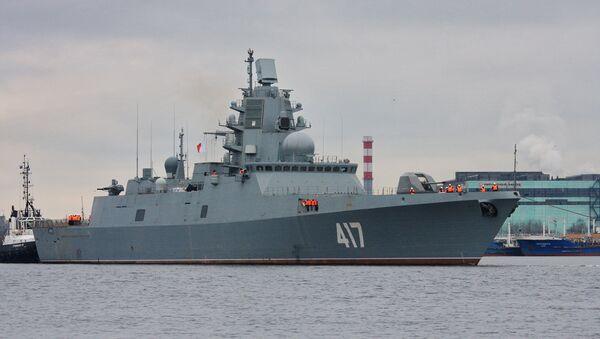 Admiral Sergey Gorshkov Frigate - Sputnik International