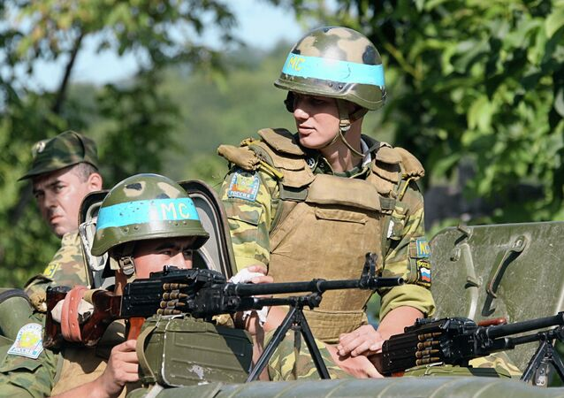 Russian peacekeeping forces