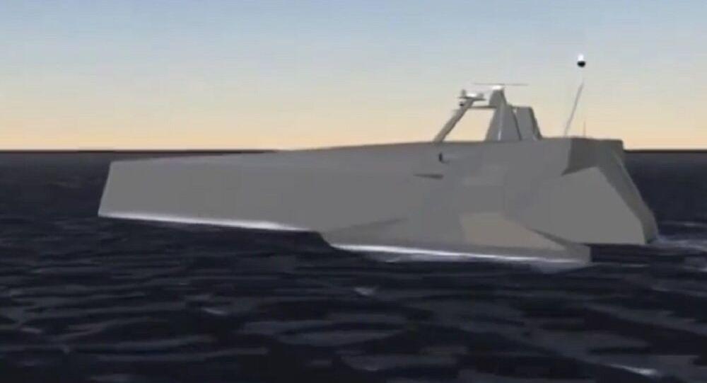 Anti-Submarine Warfare Continuous Trail Unmanned Vessel (ACTUV)
