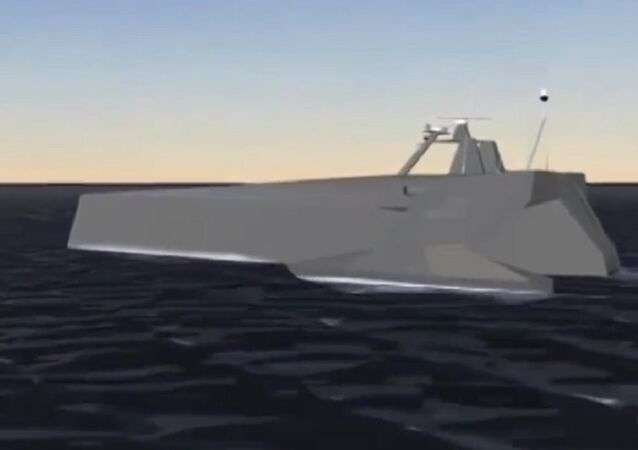 Anti-Submarine Warfare Continuous Trail Unmanned Vessel (ACTUV)