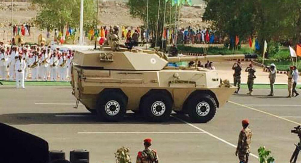 Norinco WMA301 Assaulter Tank at Djibouti's Independence Day Parade.
