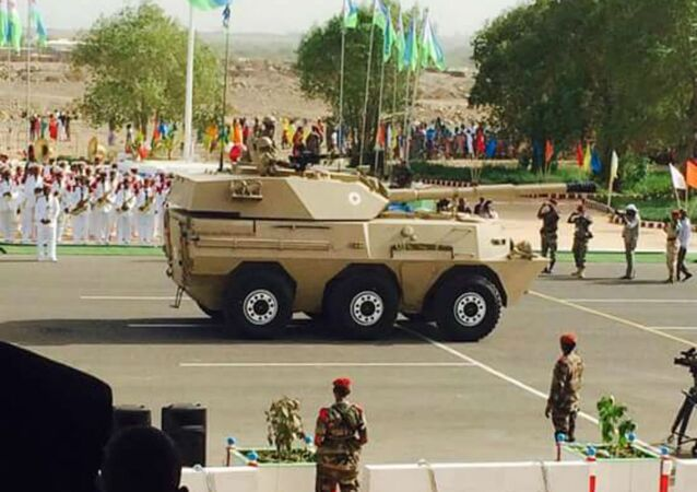 Norinco WMA301 Assaulter Tank at Djibouti's Independence Day Parade.
