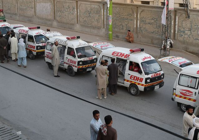 Ambulance, Pakistan