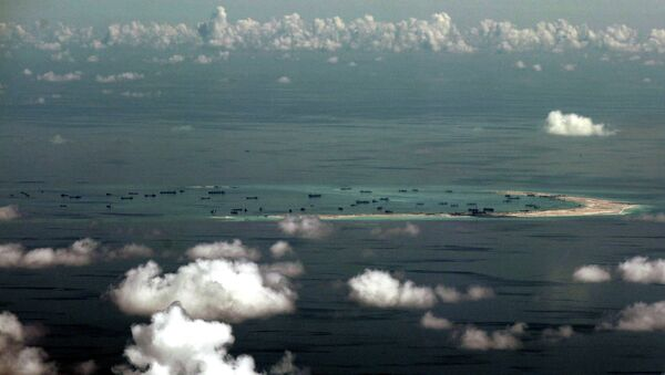 Spratly group of islands in the South China Sea, west of Palawan - Sputnik International