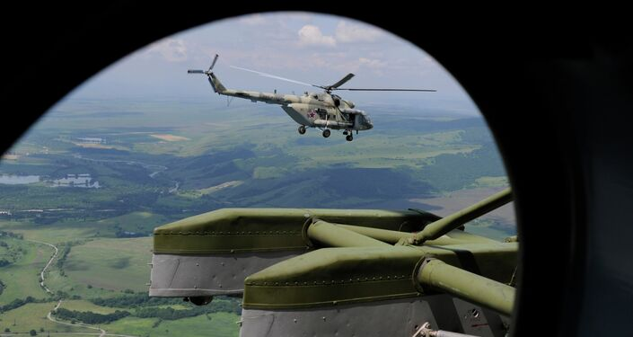 Mi-8MTV-5 helicopters