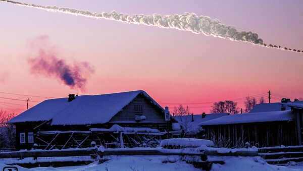 Reconstructions of the path and damage caused by the asteroid that exploded over Chelyabinsk, Russia, in Feb. 15, 2013 - Sputnik International