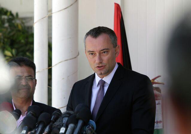 United Nations' Middle East peace envoy, Nikolay Mladenov