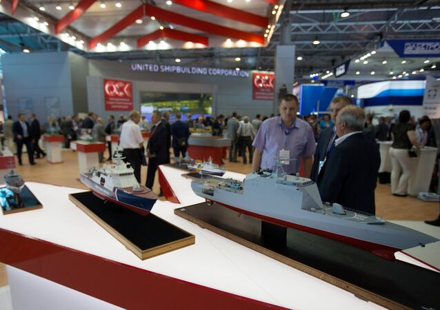 International Maritime Defence Show in St. Petersburg