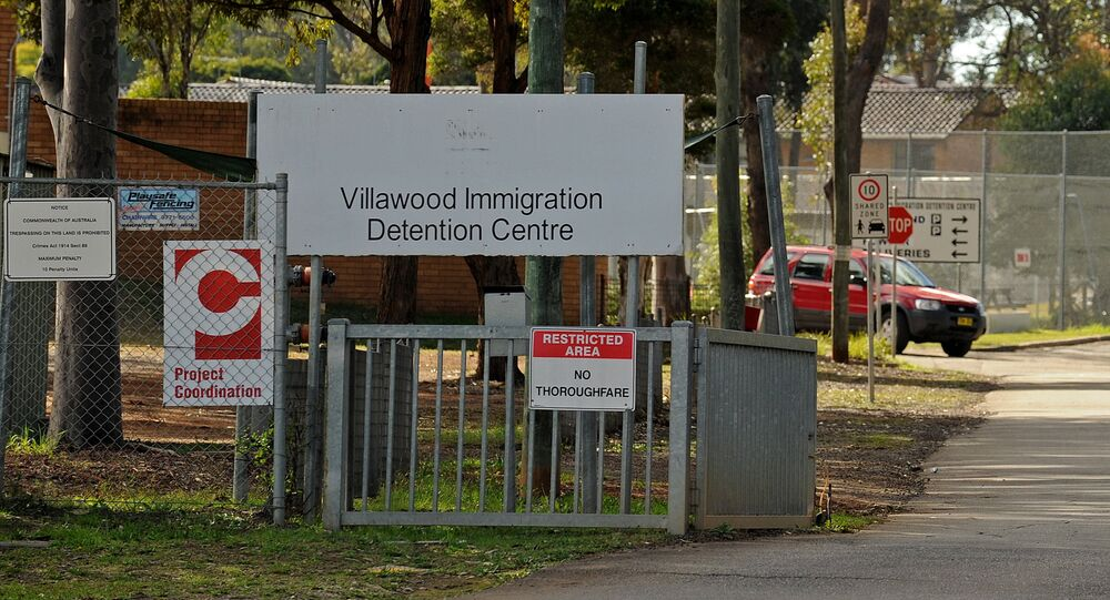 The Villawood Immigration Detention Centre near Sydney is shown in this photo taken on July 16, 2010