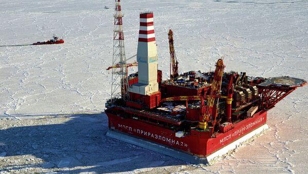 Prirazlomnaya offshore oil platform - Sputnik International