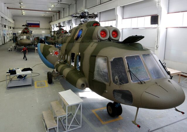 Mi-8 MTPR helicopters