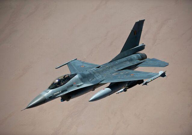 Belgian F-16 fighter