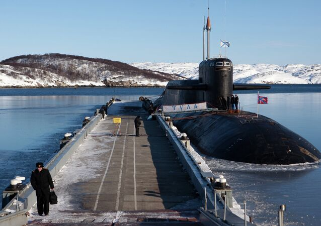 Drills for nuclear submarine crews at training center in Murmansk Region