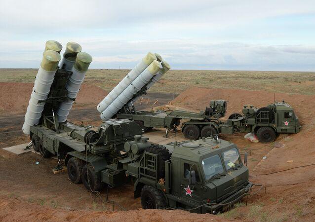 S-400 Triumf anti-aircraft system
