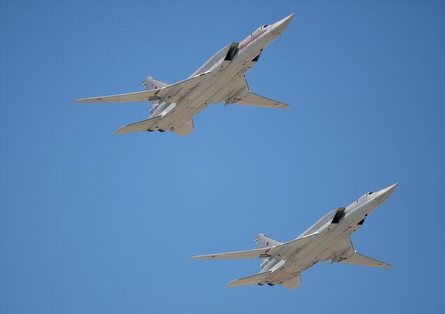 Tupolev Tu-22M3 Backfire strategic bombers