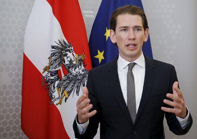 Austrian Foreign Minister Sebastian Kurz
