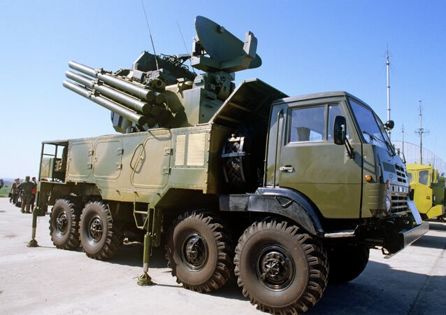 Pantsir-S1 Air Defense Missile/Gun System