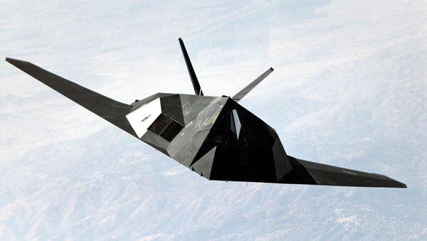 US Air Force F-117 Nighthawk stealth fighter - Sputnik International