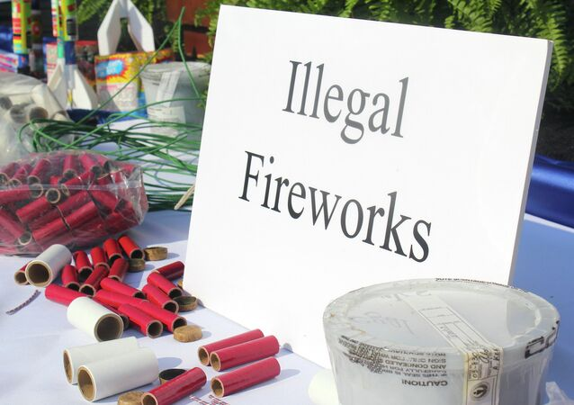 A warning about illegal fireworks from the United States Consumer Product Safety Commission