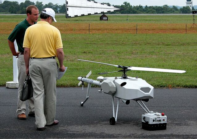 The S-100 Camcopter, manufactured by the Austrian company Schiebel, is one of the most widely used drones in the world.