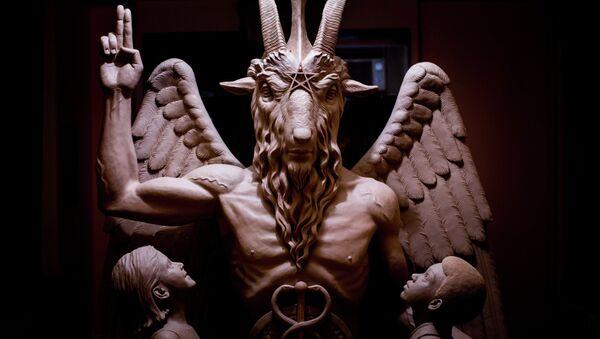 Satanists Now Eye Arkansas to Erect Statue Outside Statehouse - Sputnik International