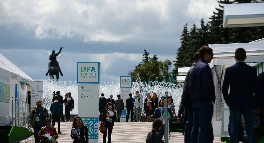 Opening of International Media Centre in Ufa