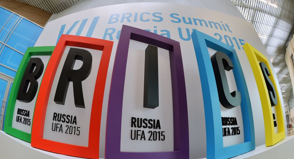 The BRICS summit is taking place in Russia's Ufa on July 8-10.