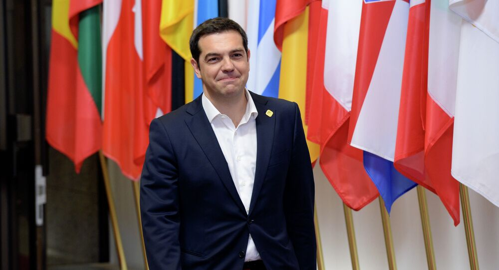 The Prime Minister of Greece Alexis Tsipras