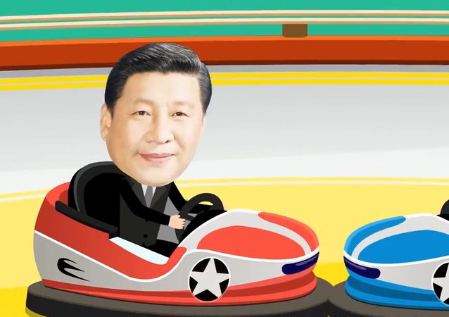 A Chinese animated short titled Going to SCO and BRICS Summits With Xi Jinping