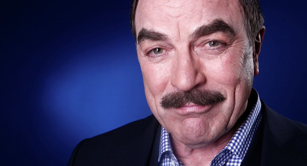 Hollywood Actor Tom Selleck Accused of Public Water Theft