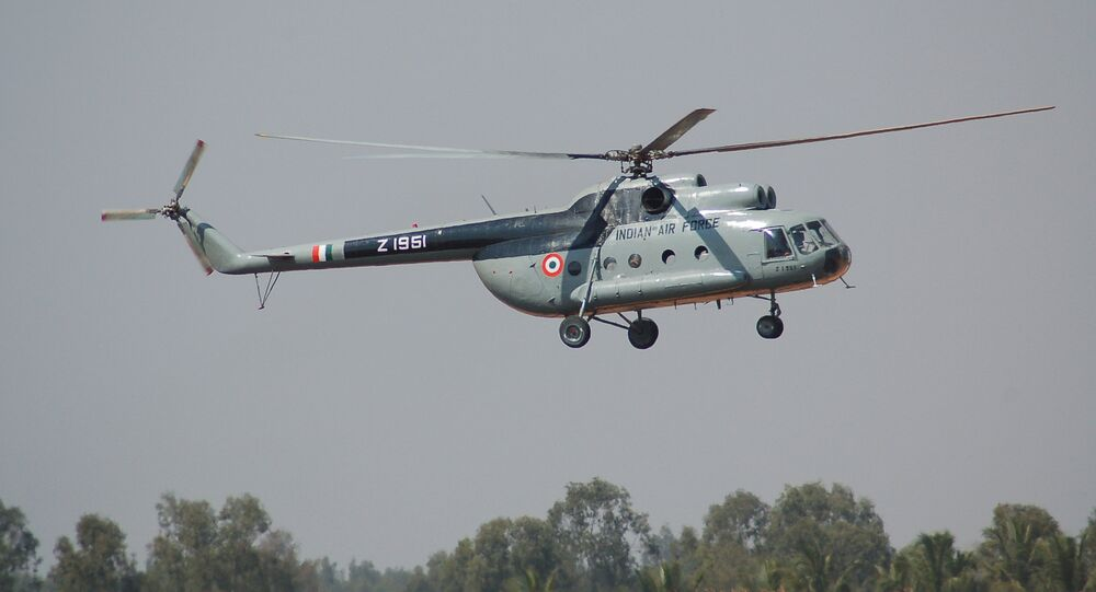 Mi-8 of the Indian Air Force
