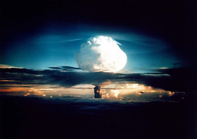 Nuclear weapons test at Enewetak in 1952