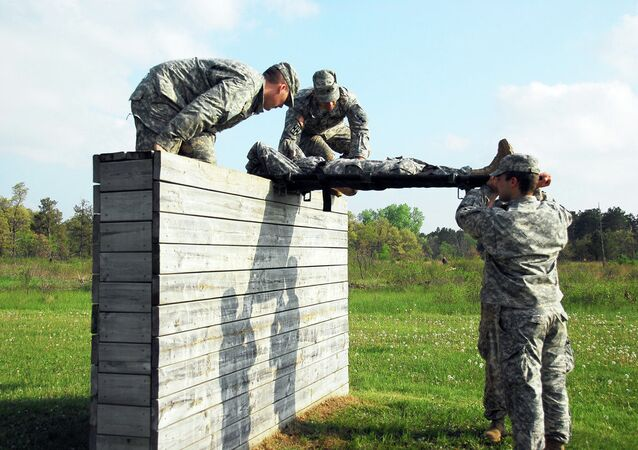 Combat medic skills with tactical challenges Saturday  at the Wisconsin Military Academy at Fort McCoy