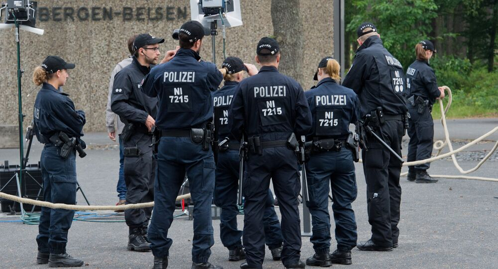 German police. File photo