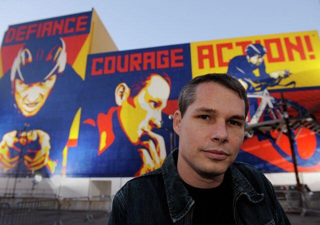 Obama 'Hope' Artist Shepard Fairey Arrested After Returning From Europe