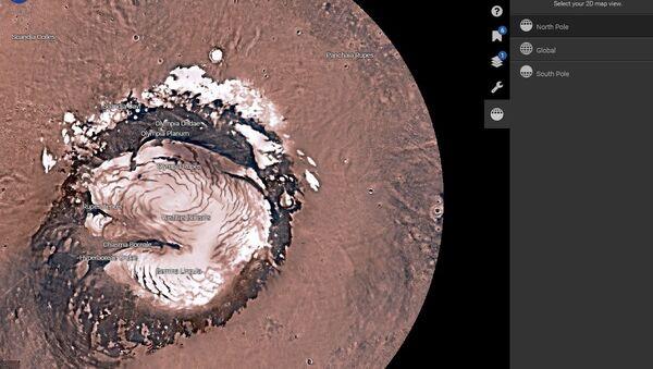NASA Mars Trek - Sputnik International