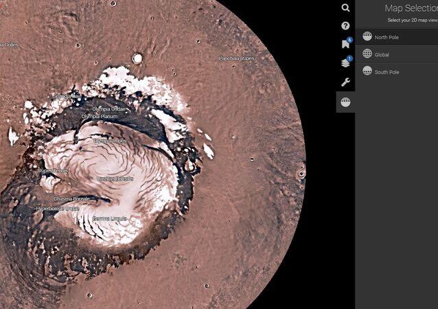 NASA Mars Trek