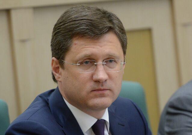 Minister of Energy Alexander Novak