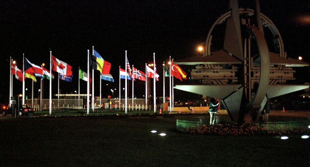 NATO headquarters in Brussels
