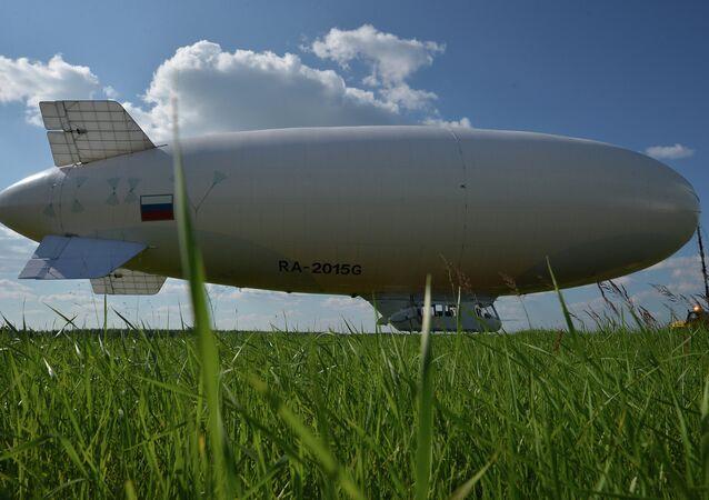 An AU-30 airship