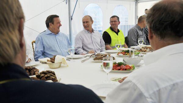 Prime Minister Vladimir Putin visits North Western Federal District - Sputnik International